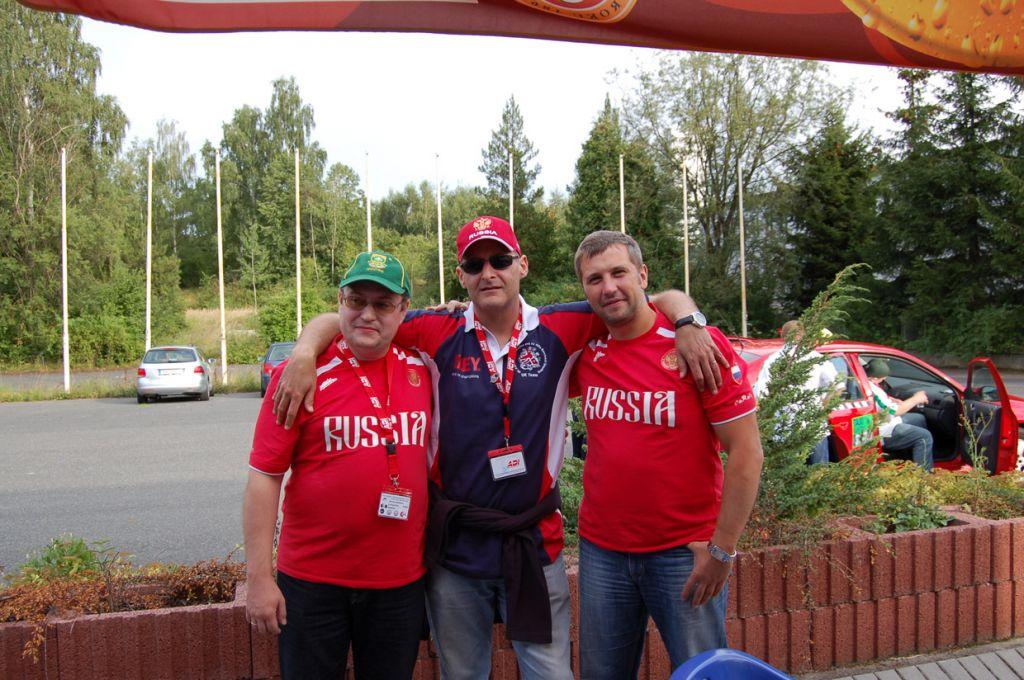 Карл Босвелл с российскими участниками
